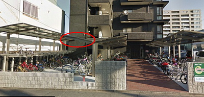 bicycle parking area roof.jpg